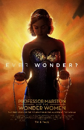 Professor Marston and the Wonder Women poster