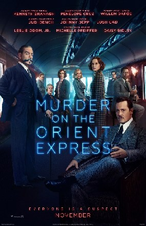 Murder on the Orient Express poster